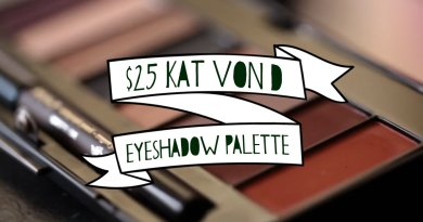 "$25 ""Discontinued"" Ladybird Palette from Kat Von D Beauty"