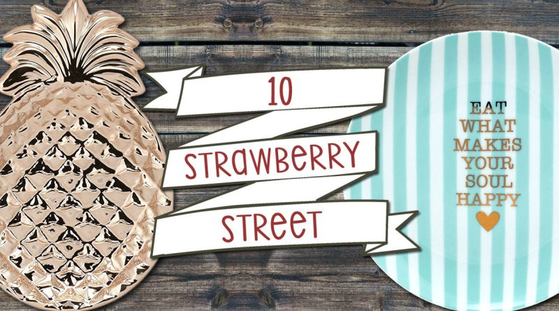 Cute Up Your Kitchen with 10 Strawberry Street