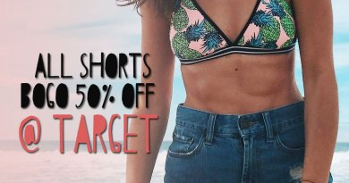 All Women's Shorts are BOGO 50% Off at Target