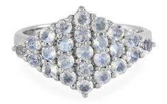 Rainbow Moonstone Silver Ring, $39 $29