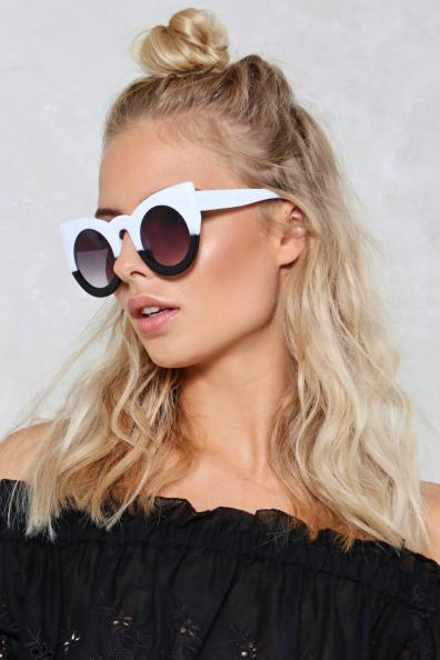 Opposites Attract Cat Eye Sunglasses