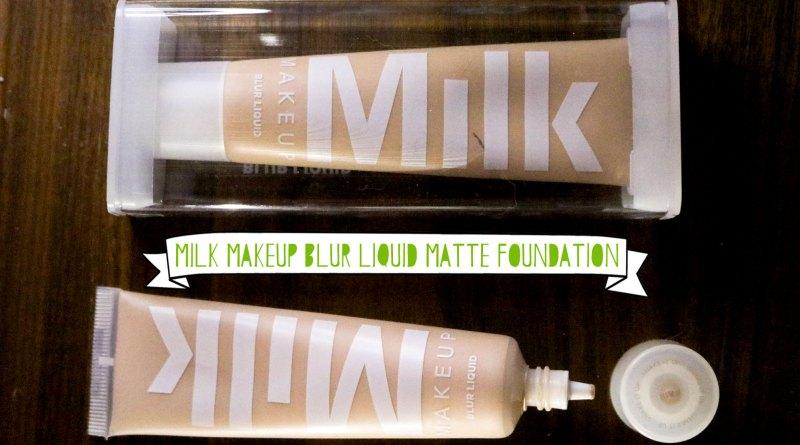 Milk Makeup Blur Liquid Matte Foundation Review