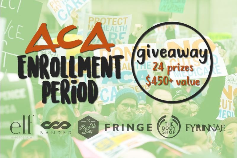 Open Enrollment Giveaway - Happy ACA Enrollment Day!