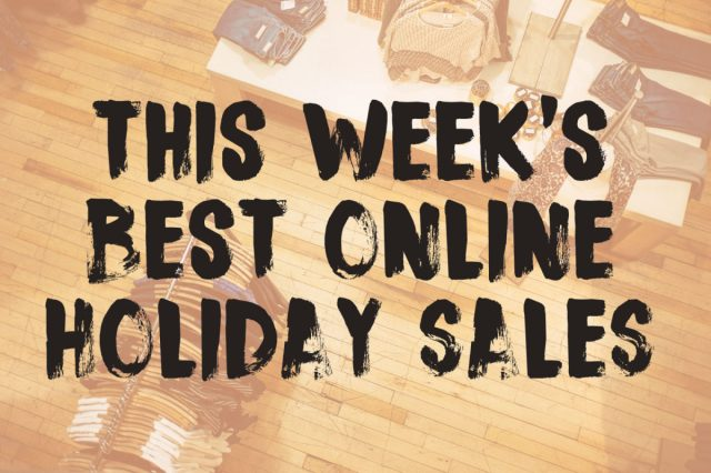 Thanksgiving Week Sales To Peruse While Ignoring Your Family Broke And Beautiful