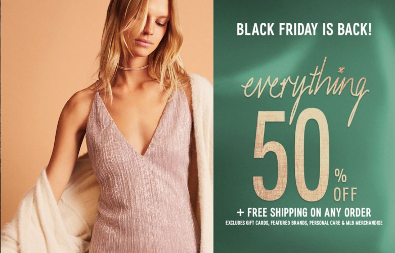 Express Black Friday 2: 50% Off Everything