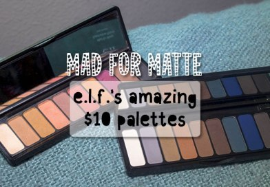 Mad for Matte: e.l.f.'s Insanely Good $10 Eyeshadow Palettes