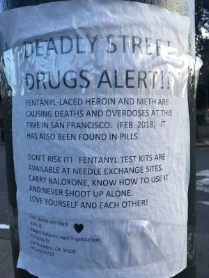 Image result for people whacked out on fentanyl on the streets of san francisco