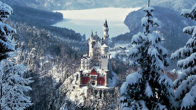 I'd go to this winter castle in a heartbeat