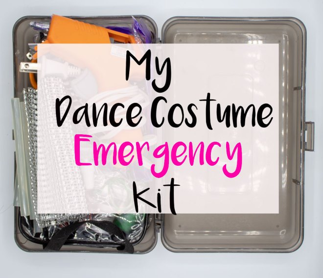 Dance Costume Emergency Kit