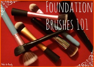 SS foundation brushes