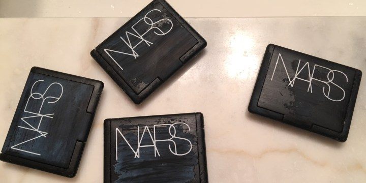 Testing Beauty Hacks: Removing NARS Sticky Coating