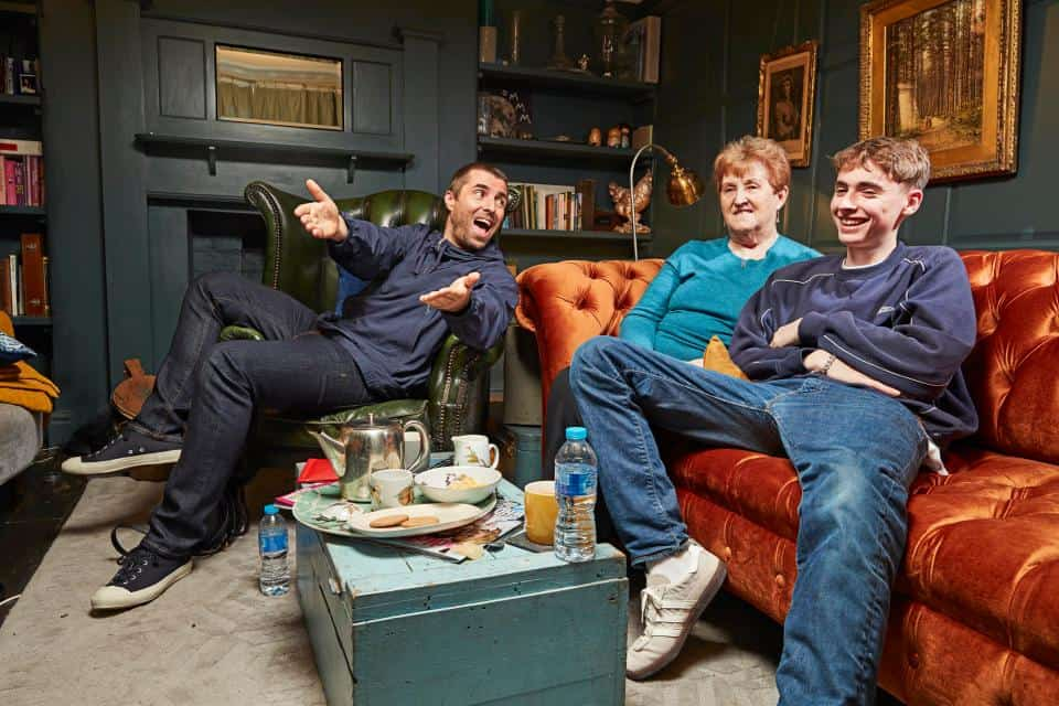 Liam Gallagher will be on Celebrity Gogglebox IMAGE: JUDE EDINGTON. CHANNEL 4 IMAGES MUST NOT BE ALTERED OR MANIPULATED IN ANY WAY.