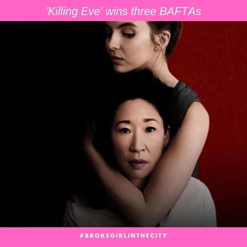 Killing Eve wins three BAFTas