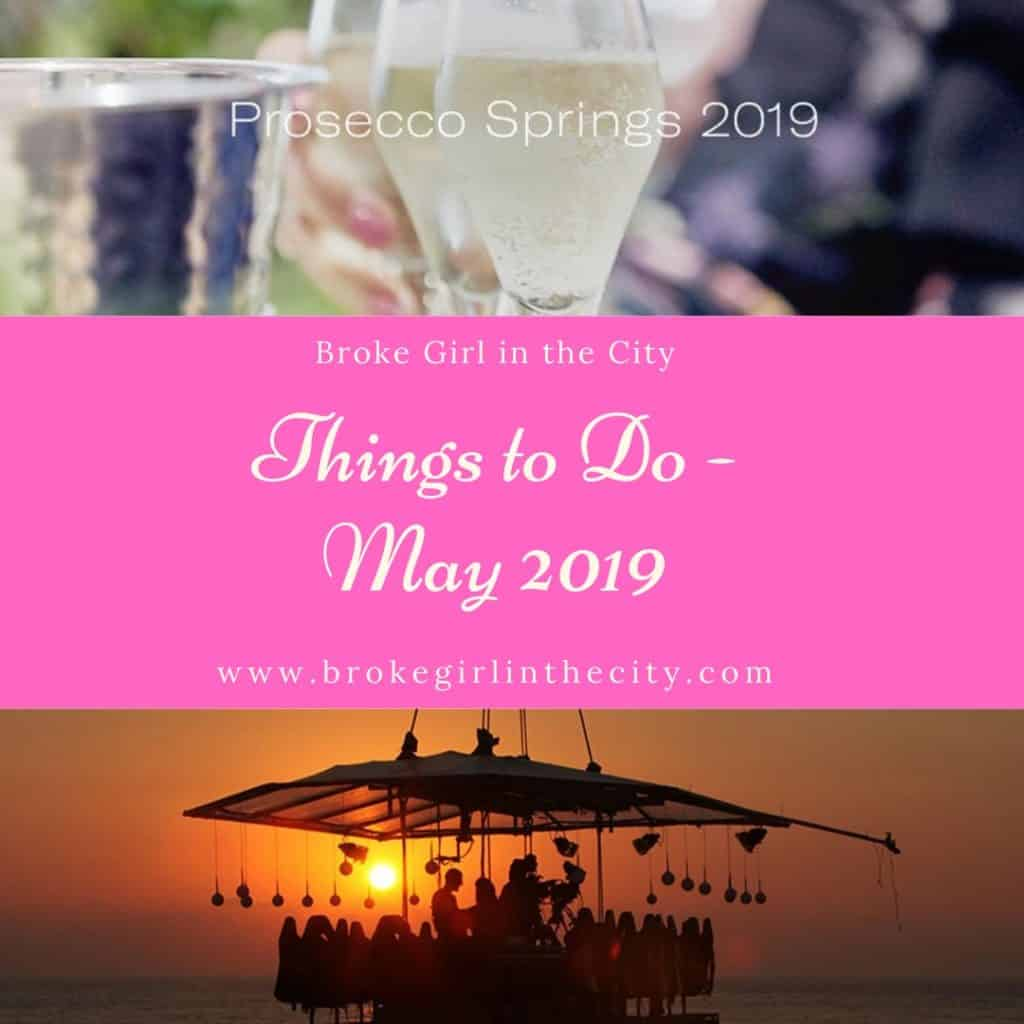 Things to do May 2019