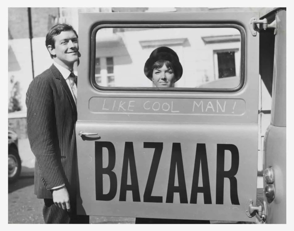 Mary Quant and Alexander Plunket Greene, photograph by John Cowan, 1960