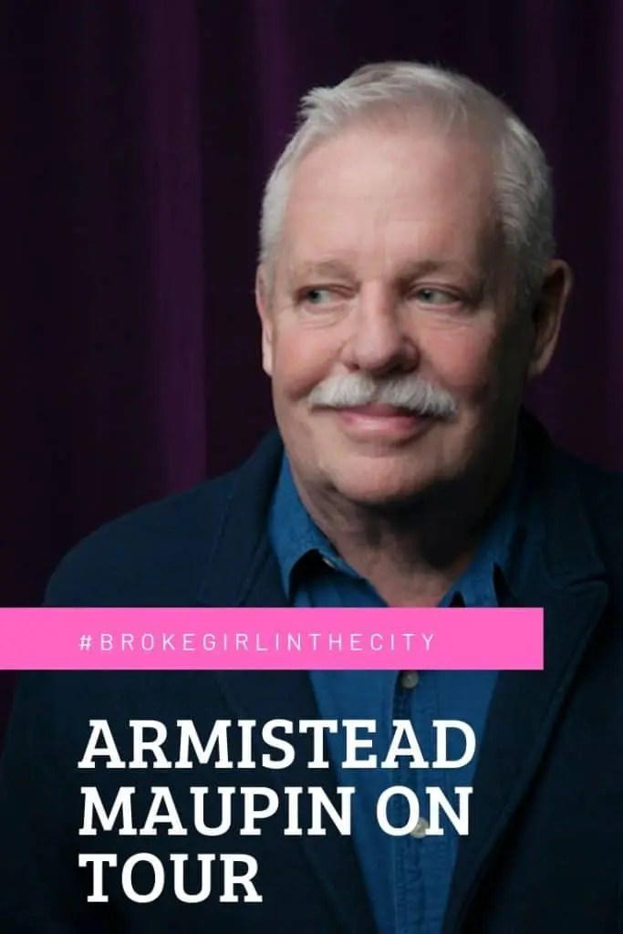 Armistead Maupin on Tour