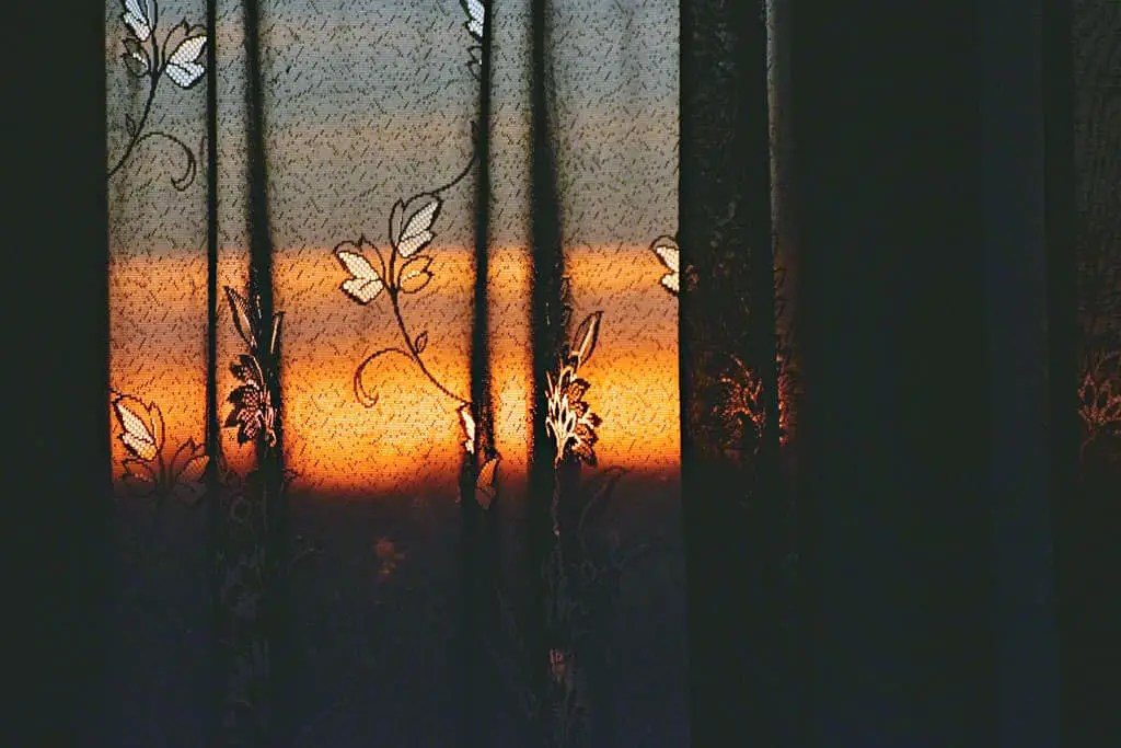 Keep curtains drawn in a heatwave