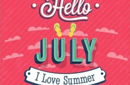 Hello July - Homepage