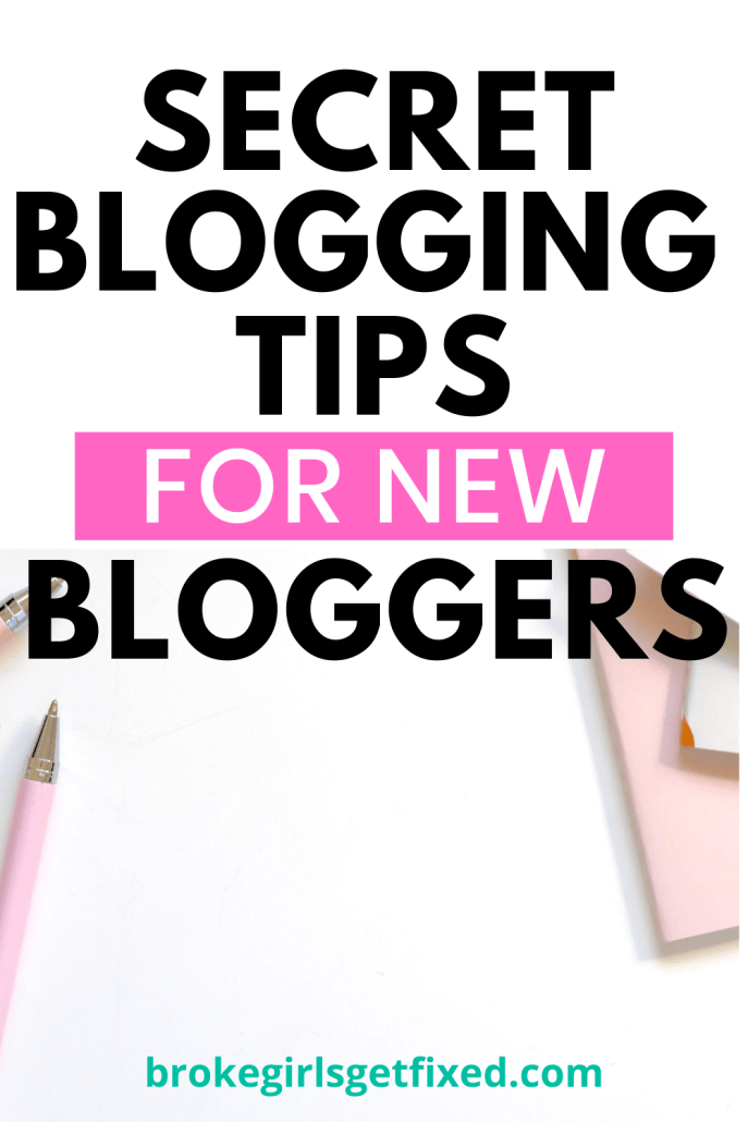 secret blogging tips for new bloggers and old bloggers