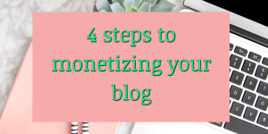 How to monetize a website: 4 Ways to make money blogging