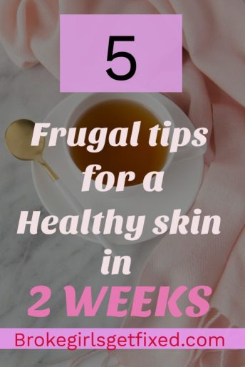 You can get a healthy skin in two weeks. It is absolutely possible.