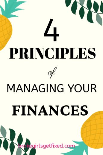 managing your finances: 4 easy ways