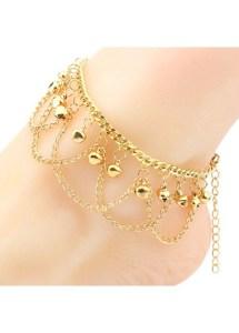 gold anklets