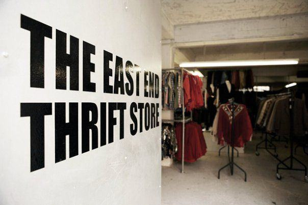 East End Thrift Store  Broke in London