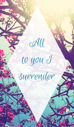 Surrender All