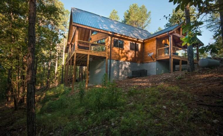Broken Bow Lake Cabin Trails