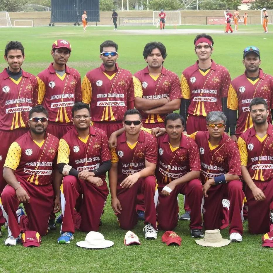 Team photo of Avinash in ACC
