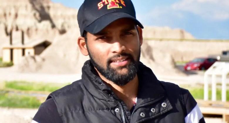 Photo of Avinash with Iowa State hat