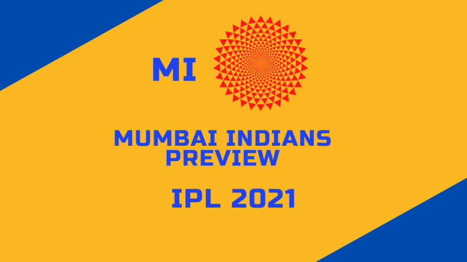 Mumbai Indians Preview Banner