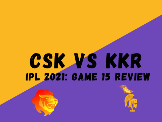 CSK Vs KKR Graphic