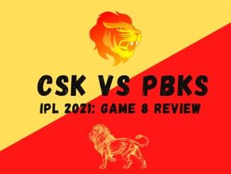 CSK Vs PBKS Graphic