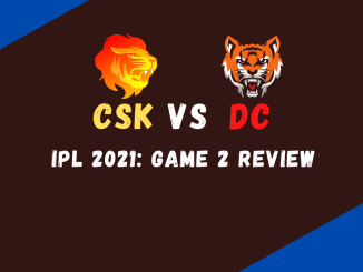 CSK Vs DC Match Review Banner