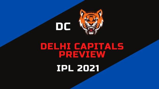 Delhi Capitals Preview IPL 2021 Banner