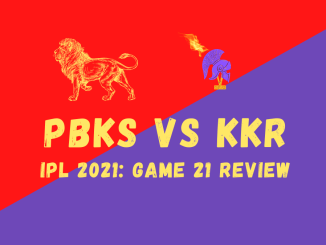 KKR Vs PBKS Graphic