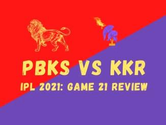 KKR Vs PBKS Graphic