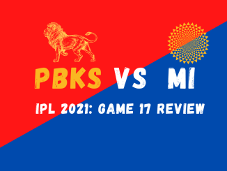 MI Vs PBKS Graphic