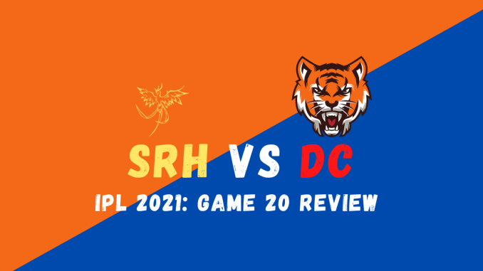 SRH Vs DC Graphics