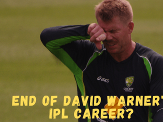 RR Vs SRH Graphic & Photo of David Warner