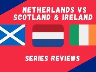 Netherlands Vs Scotland & Ireland 2021 Graphic