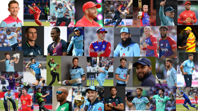 England T20 World Cup Squad Probable's Collage