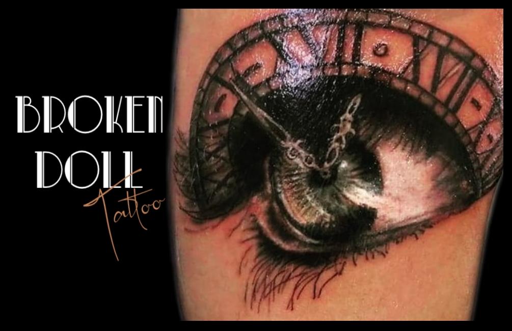 Boken Doll Tattoo