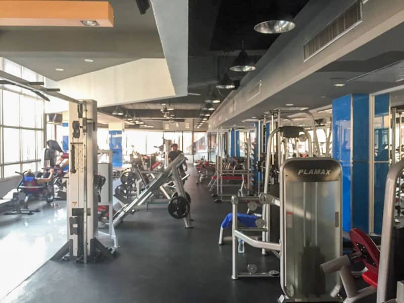Cost of living in Chiang Mai Gyms