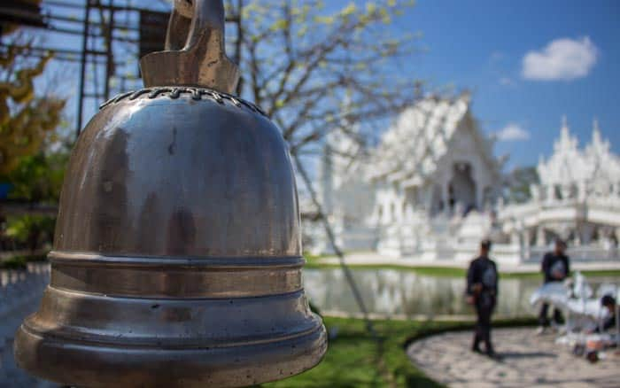 Chiang Rai things to do - White Temple Bell
