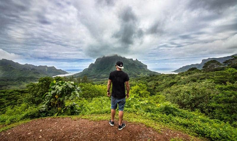 "Visiting Moorea the ""Magical Island"" of Tahiti"