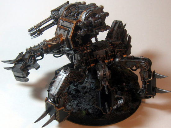 Iron Warriors Defiler (Left Side View)