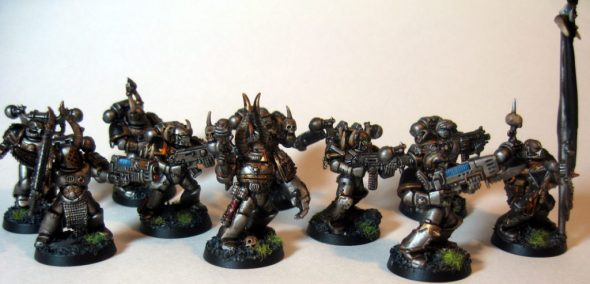 Iron Warrior Troop Squad Two (side View)